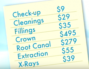 costs of employee dental services